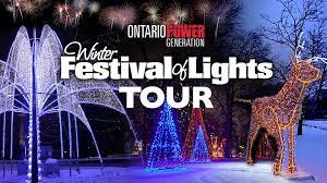 festival of lights niagara falls winter festival of lights tour niagara falls events
