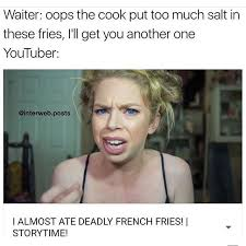 Funny Youtube Memes - storytime youtubers clickbait memes youtube title meme meme