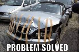 Car Accident Meme - bmw accident meme running on happy
