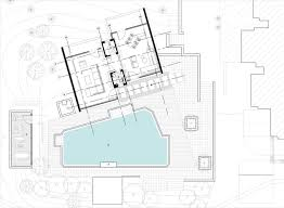 House Site Plan Gallery Of Pool House 42mm Architecture 19