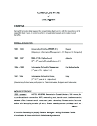 Job Objective Resume by Secretary Objective Resume Resume For Your Job Application