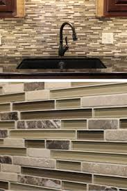 Glass Kitchen Tile Backsplash 65 Best Kitchen Tile Backsplashes Images On Pinterest Kitchen