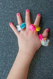 diy jewelry for kids the easiest pipe cleaner rings let u0027s do
