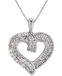 diamond necklace hearts images 1 2 ct t w diamond necklaces macy 39 s 5,0&a