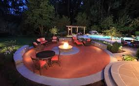 Backyard Fire Pit Images Outdoor Fire Pit U0026 Fireplaces Custom Design Fire Features