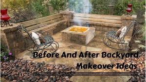 awesome before and after backyard makeover ideas you can apply