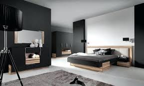chambre à coucher contemporaine chambre coucher tete de lit contemporaine design bois tissu tete