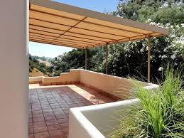 Canvas Awnings For Patios Stationary Canvas Patio Cover Mediterranean Patio Los