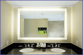 Bathroom Mirror With Tv by Lighted Bathroom Mirror Dimmable Lighted Mirror Aurora 24 X 32