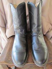 s justin boots size 12 justin s boots 4871 mahogany worn saddle size 12 ee ebay