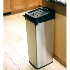 Tall Trash Can by Kitchen Stunning Large Kitchen Trash Can Outdoor Trash Containers