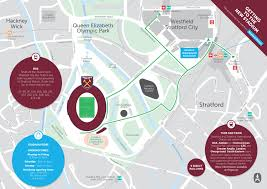 Map A Walking Route by Visiting London Stadium West Ham United