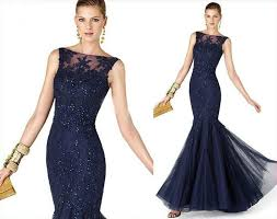 evening dresses for weddings lace applique mermaid wedding occasion gown formal party