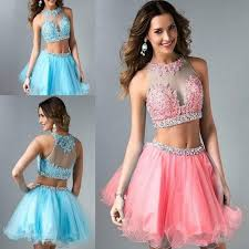 cheap tulle two pieces homecoming dresses 2016 cheap tulle sheer