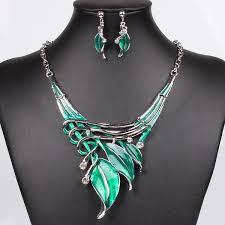 crystal choker necklace set images Wish moda red jewelry sets purple enamel jewelry statement jpg