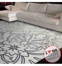 tappeti wissenbach tappeto moderno exposure wissenbach crema tortora stile floreale