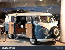 volkswagen hippie van front duesseldorf august 27 volkswagen type 2 stock photo 111256325