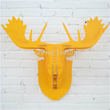 Christmas Decor Deer Head by Online Get Cheap Mdf Christmas Decorations Aliexpress Com