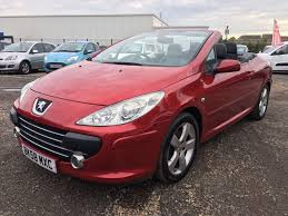 peugeot used car dealers 2008 peugeot 307 cc sport hdi 3 000