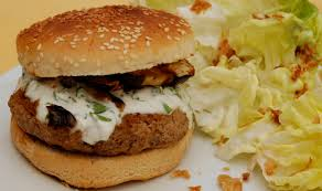 cuisiner un hamburger parts de plaisir hamburger maison aux aubergines grillées et au
