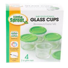Baby Storage Amazon Com Glass Baby Food Jars 4pk 2oz Microwavable Freezer