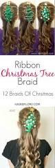 the ribbon christmas tree braid hair by lori