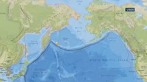 Map Of Alaska And Russia by 7 7 Ocean Quake Triggers Tsunami Warnings For Russia Abc7 Com