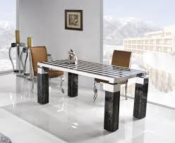 stainless steel dining room table lanzandoapps com