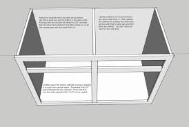 kitchen base cabinet build cabinet 101