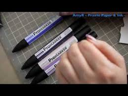 product review letraset promarker alcohol markers youtube