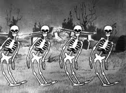 halloween dancing skeleton disney shorts hd 1929 silly symphony the skeleton dance