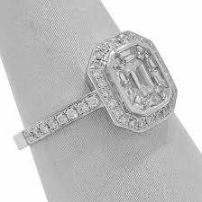 diamond halo rings images Invisible set diamond halo ring jpg