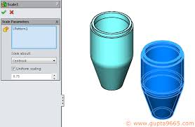 solidworks controlling scale features in configurations boxer u0027s