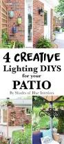 Patio Lantern Lights by Four Creative Lighting Diys For Your Patio Shades Of Blue Interiors