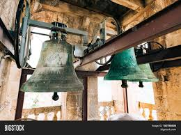 the bells in the chapel vintage large bells in the bell tower