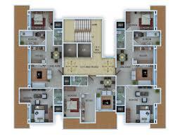 rendered floor plans and isometric by atul kudchadker at coroflot com