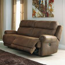 ashley furniture home theater seating austere 2 seat reclining sofa by signature design by ashley