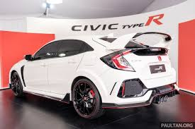 honda civic type r fk8 honda civic type r confirmed for malaysia 310 ps hatch on