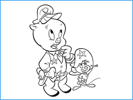 looney tunes coloring looney tunes spot coloring pages