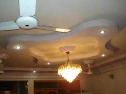 ceiling design for living room with two ceiling fan home combo
