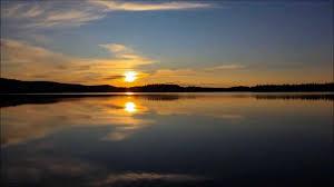 Sunrise Sunset Tables Sunset To Sunrise Time Lapse Near The Arctic Circle Ocaso