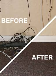 organize cords on desk go from a mess to clean how to hide your desk cords teacher