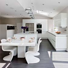 open plan kitchen ideas 30 spacious and airy open plan kitchen ideas digsdigs