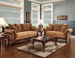 wood trim sofa 2 pc tatum collection two