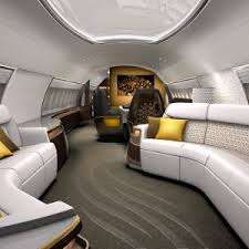 Aircraft Interior Design Designq U0027s Elegante Airplane Interior Is A Mobile Residence For The