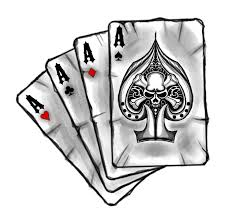 cards with skull by artires on deviantart