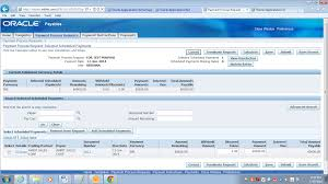 oracle apps accounts payables