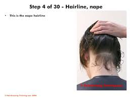nape of neck haircuts men male haircuts parallel layers ppt video online download