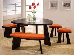 dark brown round kitchen table triangle counter height dining table round dining table with white
