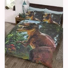 girls cotton bedding kids double duvet cover sets dinosaur army birds unicorn boys